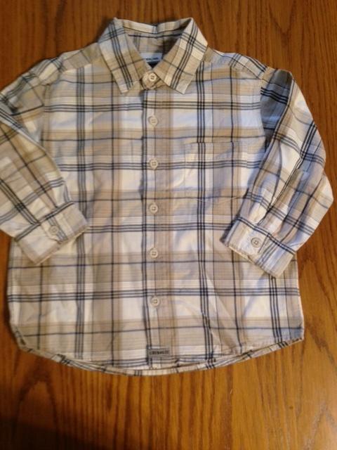 Koszula cherokee w kolorach beżu brązu 110 116