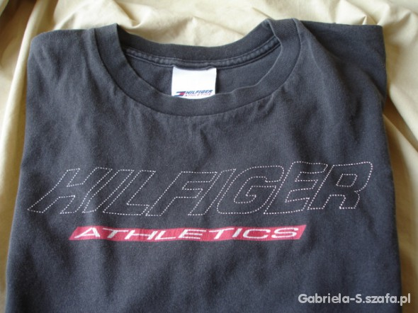 Męski tshirt Tommy Hilfiger Athletics z USA L...