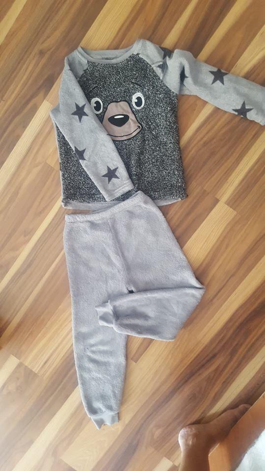 piżamka polarowa plus gratis 122...