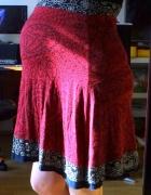 Sukienka Desigual XL czerwono czarna Ciążowa...