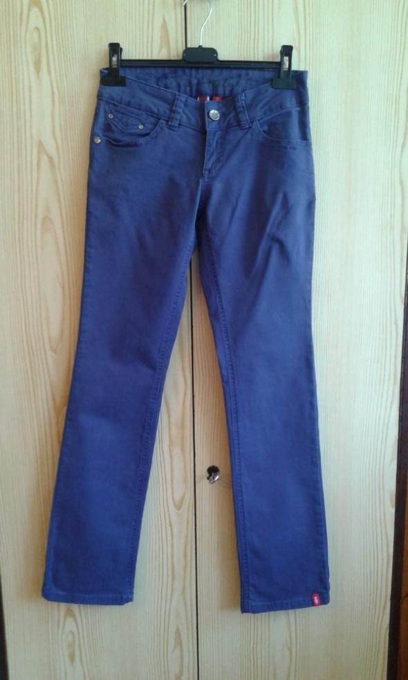 Granatowe spodnie XS 32 EDC Esprit...