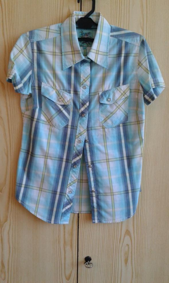 Niebieska koszula w kratę XS 34...