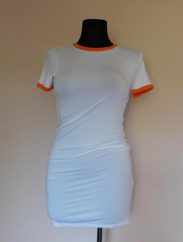 Forever 21 biała mini sukienka 36 38 NOwa...