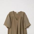 H&M by Anna Glover oliwkowa khaki bluzka zara