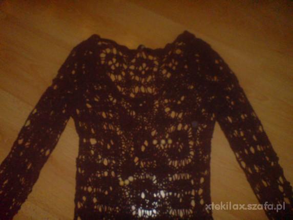 Ażurowy sweterek r38...