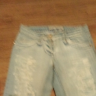 spodnie z przetarciami s