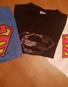 3 koszulki Superman...