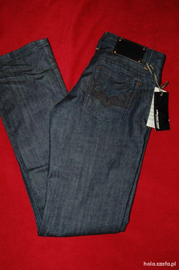 NOWE jeansy diverse 36 34...
