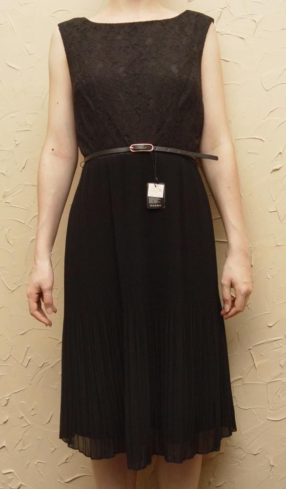 Nowa czarna długa sukienka Rozmiar 34 C&A