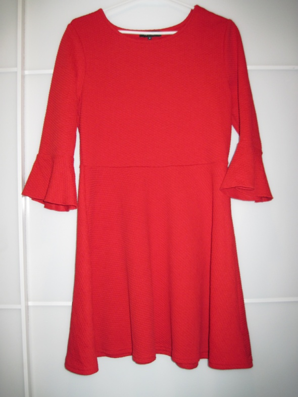 New Look czerwona sukienka 3840