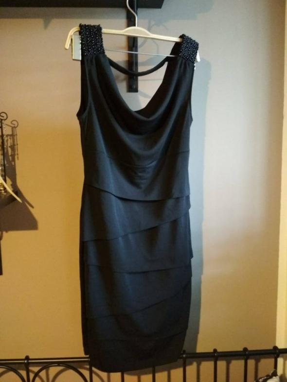 e44a8e8b07 Suknie i sukienki Sukienka orsay M mała czarna elegancka tuba klasyczna