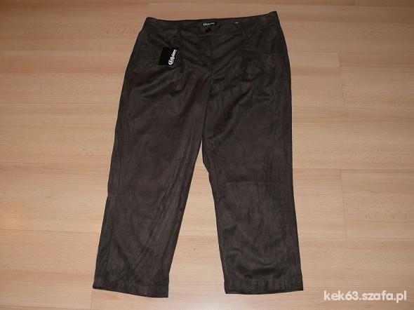 Spodnie nowe brąz do kozaczków rozm 40