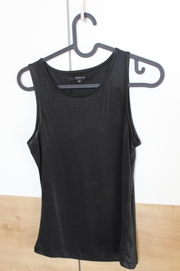 Top koszulka na ramiączkach czarna Reserved XS
