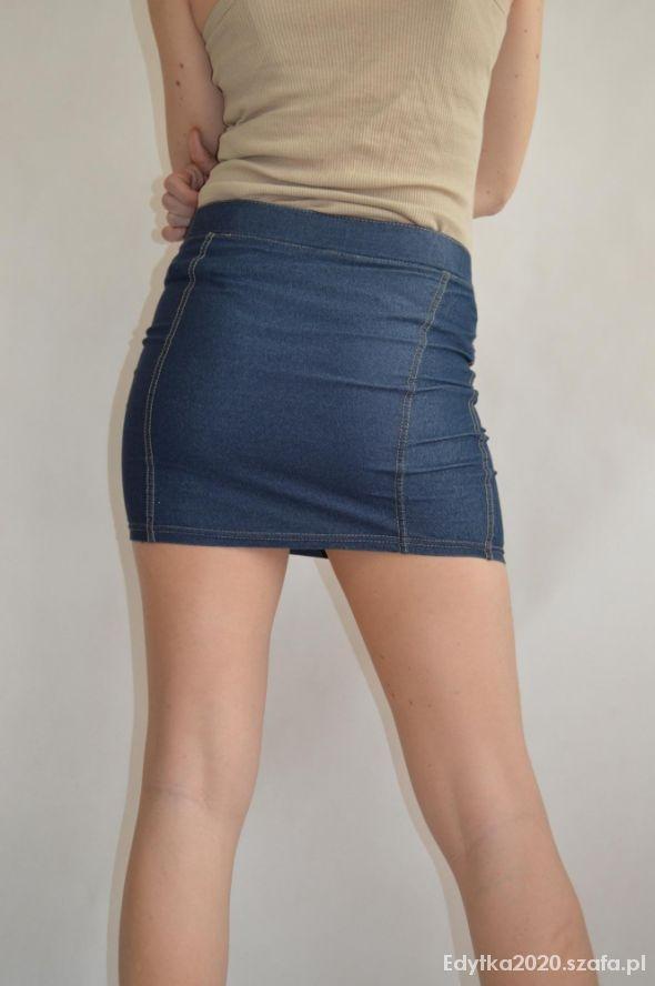 Spódniczka STRADIVARIUS alla jeansowa rozmiar SM...