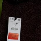 L 40 Bershka bluzka na bluzkę Nowa Z metką Metalic