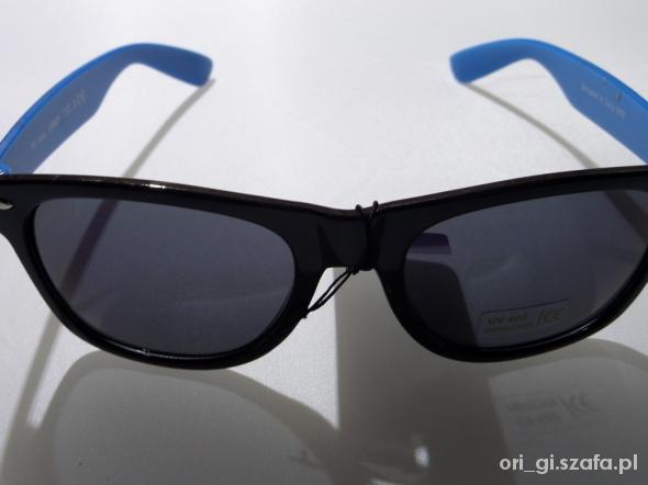Klasyczne okulary przeciwsłoneczne typu nerdy