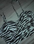 Bralet top gorset zebra bd na S i M...