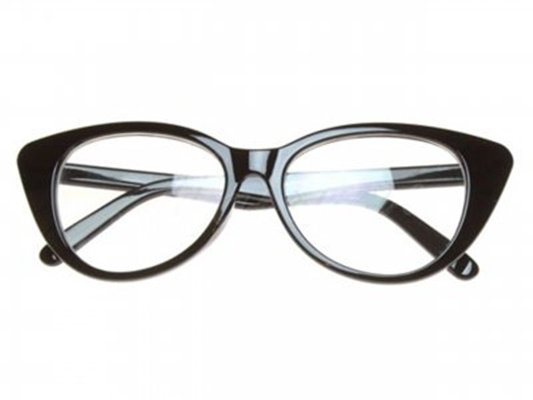 Okulary zerówki kocie oko
