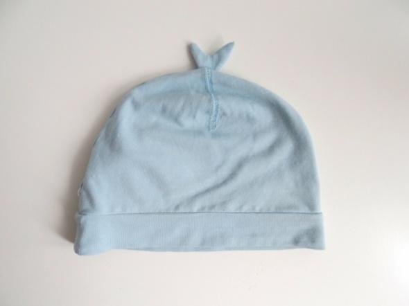 Niebieska czapka na wiosnę jesień rozmiar od 9 do