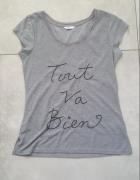 Szary top tshirt Tout Va Bien...