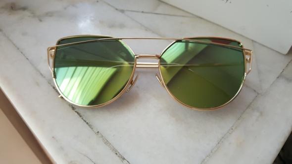 Kocie okulary lustrzanki