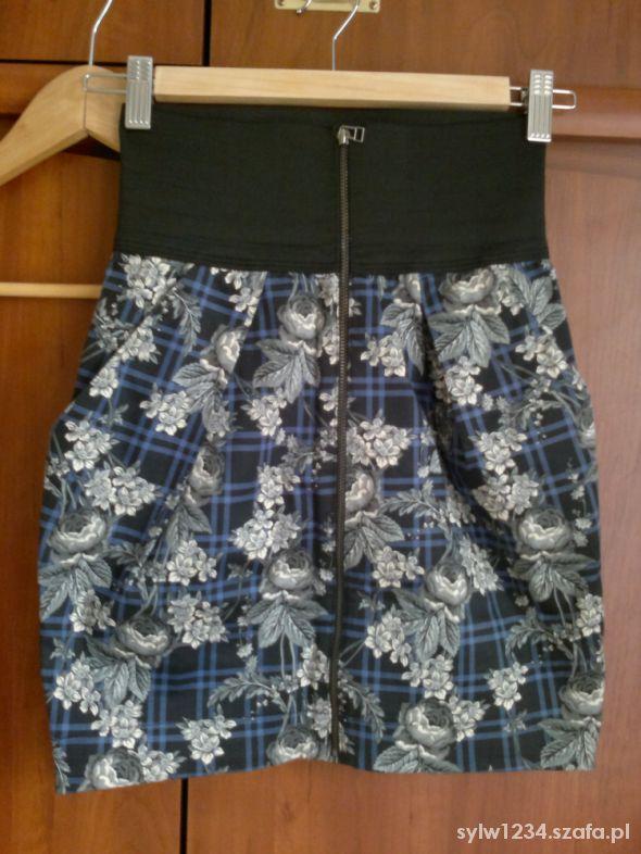 Spódnice Spódnica w kwiaty Zara