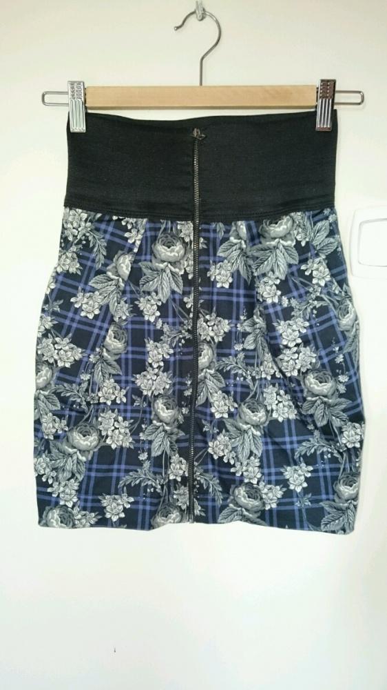 Spódnice krótka spódniczka Zara