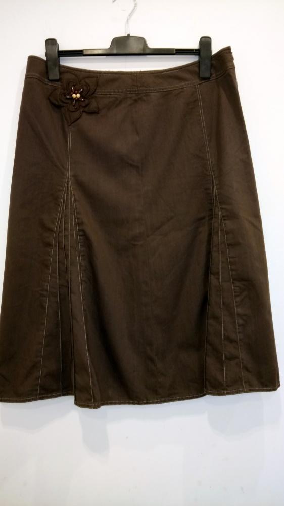 brązowa spódnica Frank Walder 44...