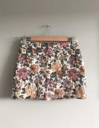 Spódnica mini ZARA Basic 38 M kwiaty floral...