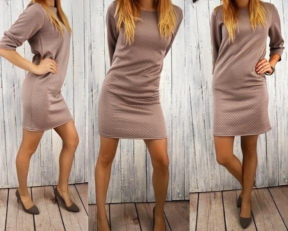 Suknie i sukienki SUKIENKA PIKOWANA H&M ROZMIAR SM