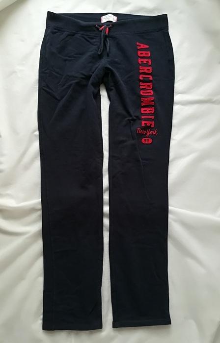 Abercrombie&Fitch granatowe spodnie dresowe M...