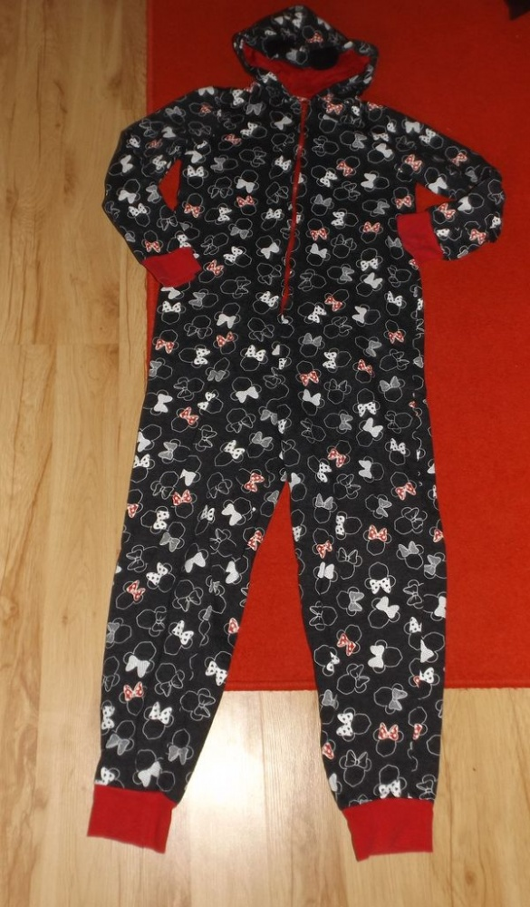drespiżama onesie Minnie Mouse 152 do 158cm