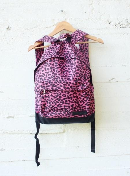 Rózowy plecak Sinsay panterka