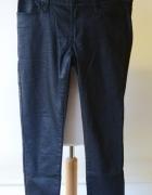 Spodnie Czarne Woskowane Rurki Cubus W 29 L 40...