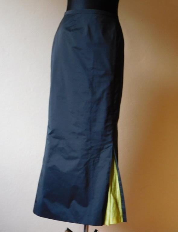 Czarna długa elegancka spódnica 36 38