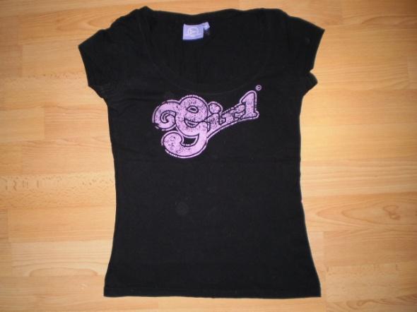 CZARNY TSHIRT DIVERSE czarna sportowa bluzeczka...