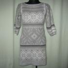 ciepła sukienka 36
