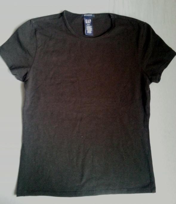 Czarna damska koszulka basic GAP rozmiar S...