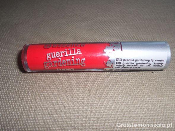 ESSENCE guerilla gardening lip cream matowy balsam