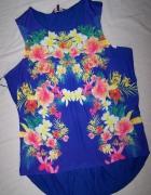 New Look super top bluzka koszulka flowers 44 46...