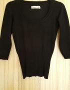 Sweter damski czarny ze ściągaczem House S M...