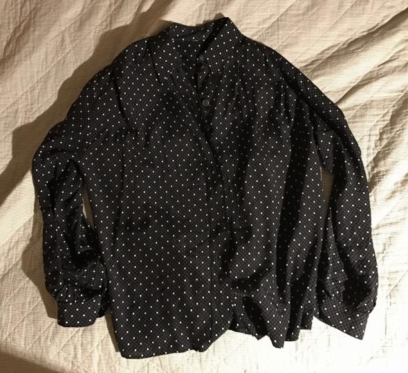 Czarna koszula oversize