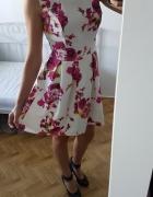 VUBU sukienka floral kwiaty zakładki...