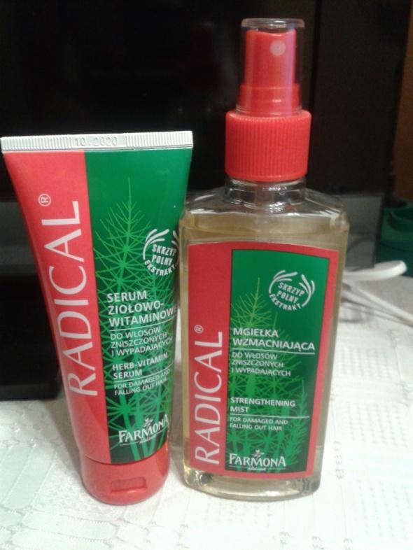 Mgiełka i serum Radical