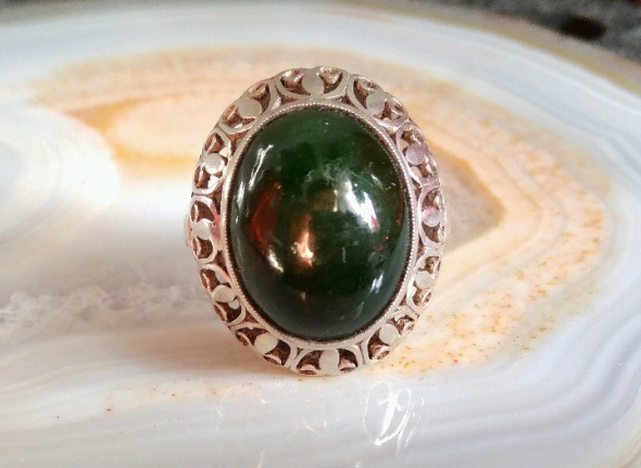 Lilijki Warmet zielony kamień