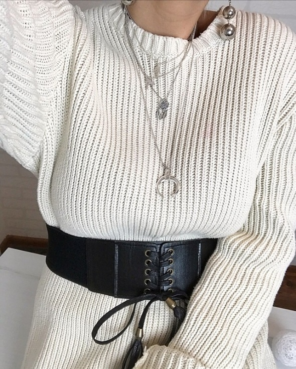 Gap piękny ciepły sweter