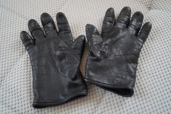 męskie skórzane rękawiczki