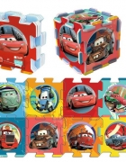 Puzzle piankowe Cars 8szt puzzlopianka mata piankowa nowe nieuż...