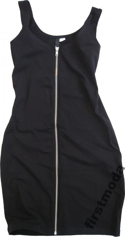 H&M czarna sukienka na zamek 42