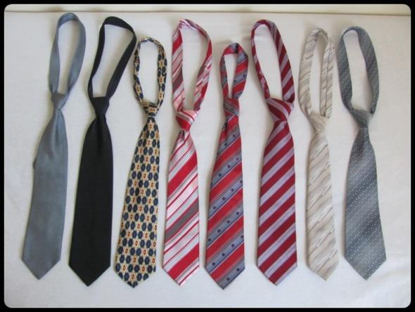 Krawaty męskie różne kolory i wzory cena za sztukę